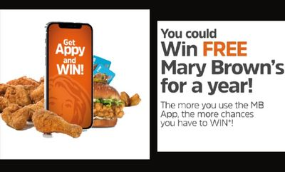 WIN at Mary Brown's