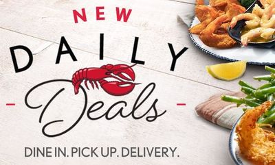 Daily Deals! at Red Lobster