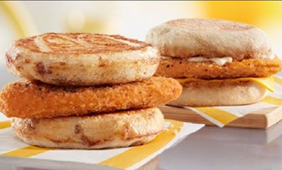 Chicken McMuffin & Chicken McGriddles at McDonald's Canada
