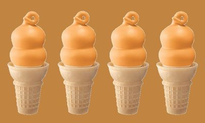 Butterscotch Dipped Cone at Dairy Queen