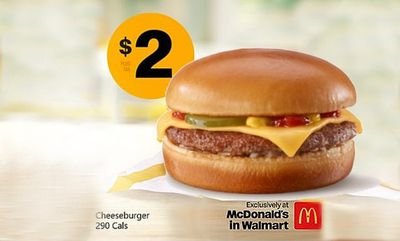 Classic Cheeseburger  at McDonald's Canada