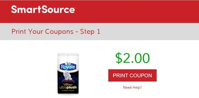 SmartSource Canada Coupons: Save $2 On Royale Velour UltraPlush