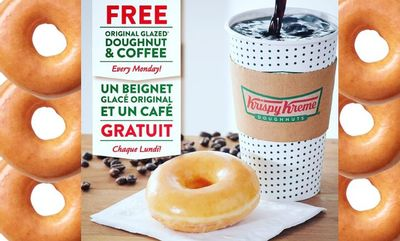 FREE OGD+MC=MONDAY at Krispy Kreme