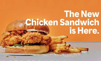CHICKEN SANDWICH at Popeyes