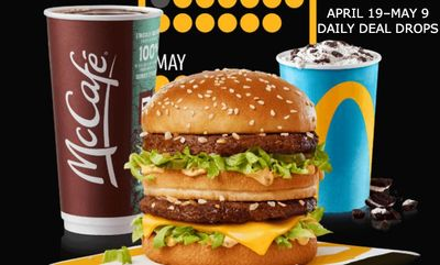 DAILY DEAL DROPS at McDonald's Canada