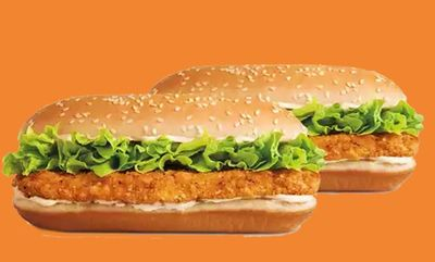 2 For $6 Mix & Match at Burger King