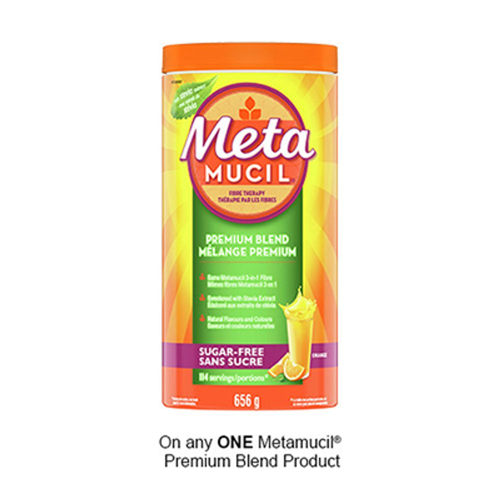 Save $2.50 when you buy any ONE Metamucil® Premium Blend Product (excludes trial/travel size, value/gift/bonus packs)