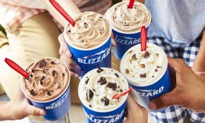 SUMMER BLIZZARDS at Dairy Queen