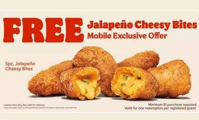 Cheesy at Burger King