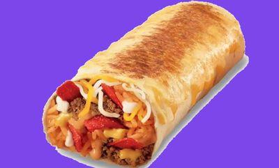 Grilled Cheesy Burrito at Mucho Burrito