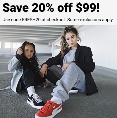 Foot Locker Canada Mother's Day Sale: Save 20% Off Using Coupon Code