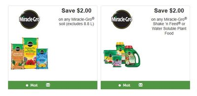 WebSaver Canada Coupons: Save On Miracle-Gro Products