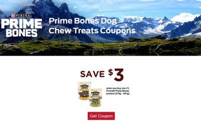 Purina Canada Coupons: Save $3 On Purina Prime Bones