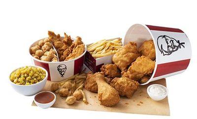 Double Bucket at KFC