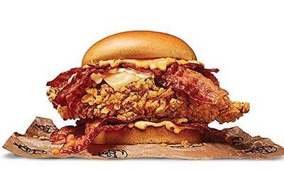 Bacon Lovers Sandwich at KFC