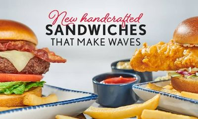 Hand Crafted Sandwiches at Red Lobster
