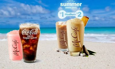 Summer! Drinks at McDonald's Canada