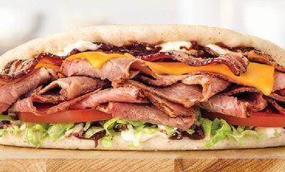 Brisket Bacon Flatbread at Arby's
