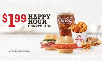 HAPPY HOUR! at Arby's
