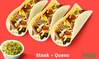 Steak + Queso at Freshii