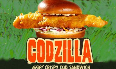 CODZILLA. at Red Lobster