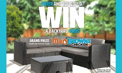 You could win! at Mary Brown's