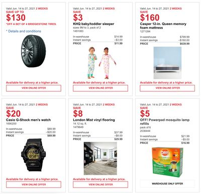 Costco Canada MoreSavings Weekly Coupons/Flyers: All Costco Wholesale Warehouses in Canada Until June 27