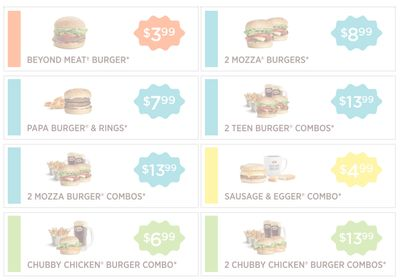A&W Canada New Coupons: Beyond Meat Burger for $3.99 + More Coupons