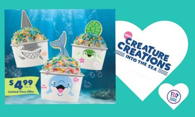 Creature CreationsInto the Sea at Baskin Robbins