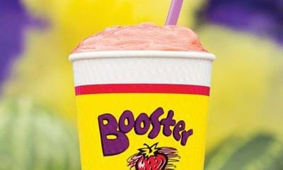 Watermelon Explosion Smoothie at Booster Juice