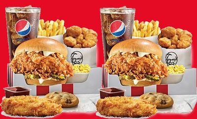 Famous Chicken Chicken Sandwich  at KFC