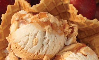 Inside Out Apple Pie Ice Cream at Baskin Robbins