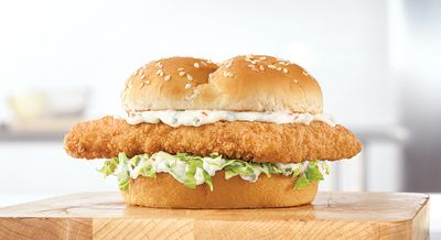 CRISPY FISH at Arby's