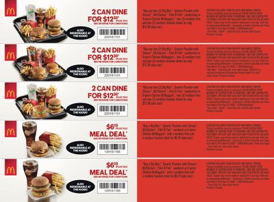 McDonald's Canada Coupons (BC, YT) March 16 to April 19