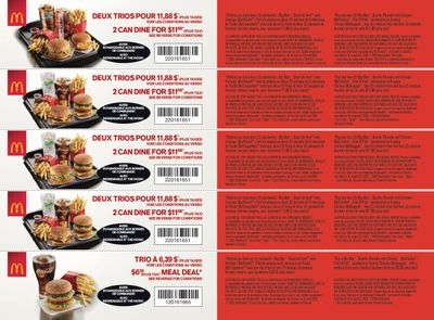 McDonald's Canada Coupons (QC) March 16 to April 19