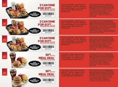 McDonald's Canada Coupons (AB) March 16 to April 19