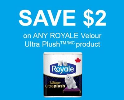 Shoppers Drug Mart Canada: Royale Bathroom Tissue $2.99 After Coupon *Ends Today*