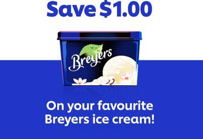 Canadaian Coupons: Save $1 On Breyers Creamery *Printable Coupon*