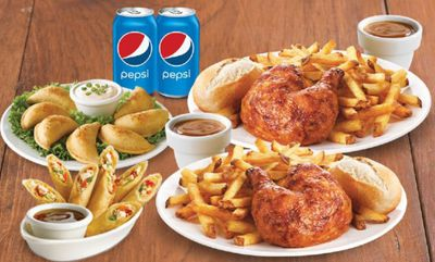 Deluxe Delivery for 2 at Swiss Chalet