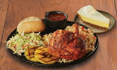Quarter Rotisserie Jerk Chicken Bundle at Swiss Chalet
