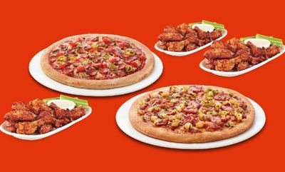 GAME DAY PIZZA AND WING DEAL at Boston Pizza