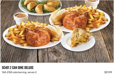 Swiss Chalet Canada Coupon: 2 Deluxe Take-Out Meals for $21.99