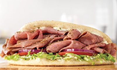 ROAST BEEF GYRO at Arby's