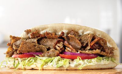 TRADITIONAL GREEK GYRO at Arby's
