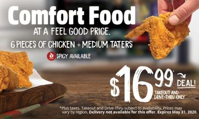 Comfort Food-Feel Good Price! at Mary Brown's