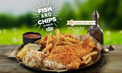 Swiss Chalet's Fish & Chips!!!