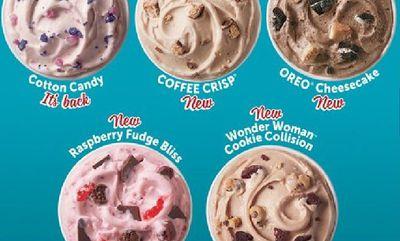 2020 Summer Blizzards at Dairy Queen