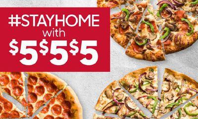 $5 -$5-$5 at Pizza Hut