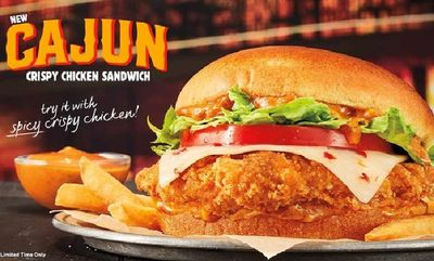 Cajun Crispy Chicken Sandwich at Burger King