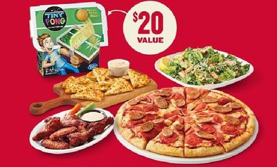 Family Game Night Meal Deal at Boston Pizza